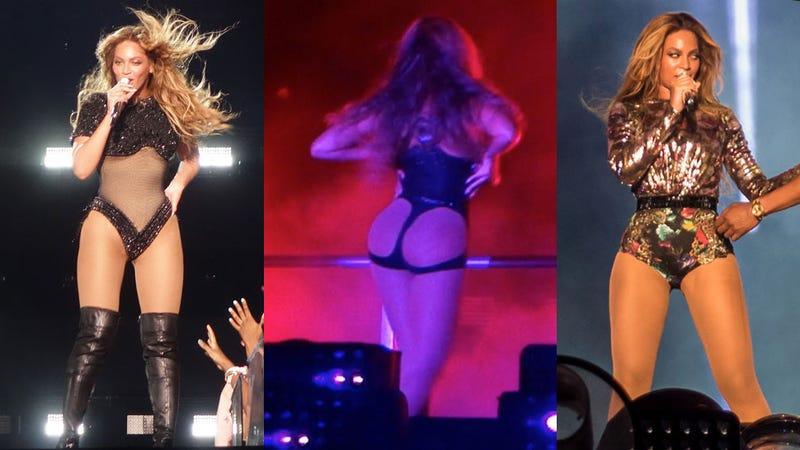 Beyoncé's 'On the Run' Tour Costumes, Starring Beyoncé's Thighs