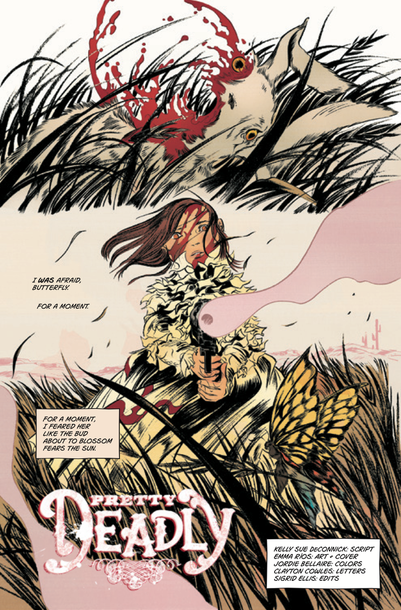 The Great New Comic You Should Buy Tomorrow Is 'Pretty Deadly'