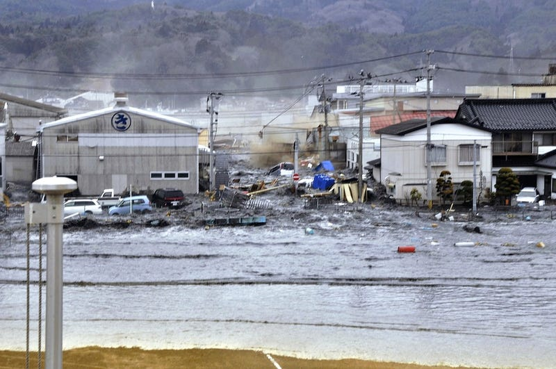 Haunting Images From The Tsunami And Earthquake