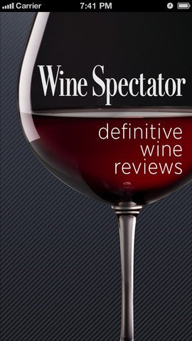 WineSpectator+ Gallery