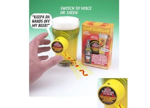 Beer Burglar Drink Protection Device