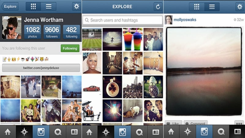 Instagram Update Brings Speed, Easy Searches, and—of course—Facebook Sharing (Updated)