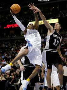 Free Darko Playoff Pants Party: Spurs Vs. Nuggets