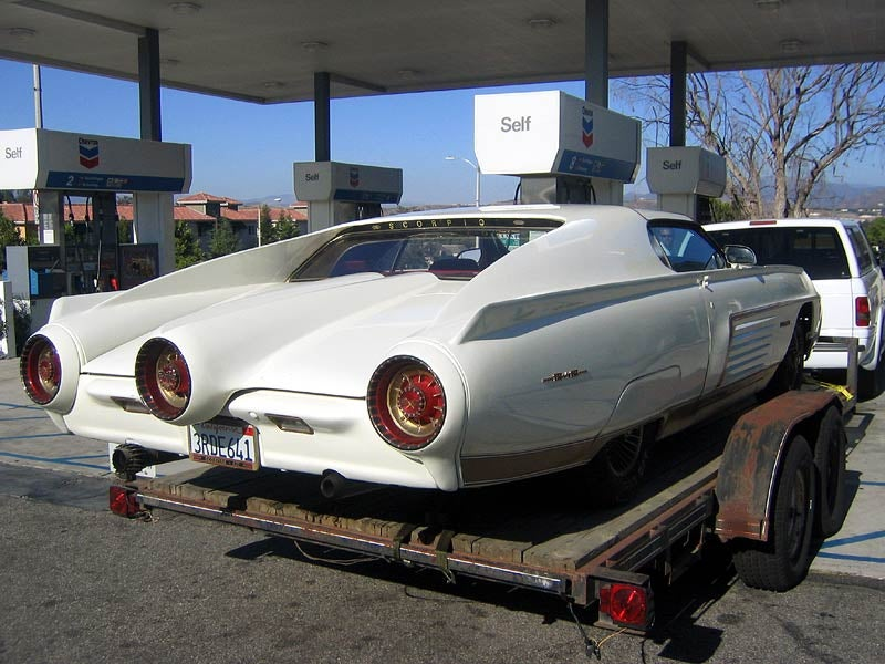 What Car Is Hidden Under This Custom Vegas Cruiser?