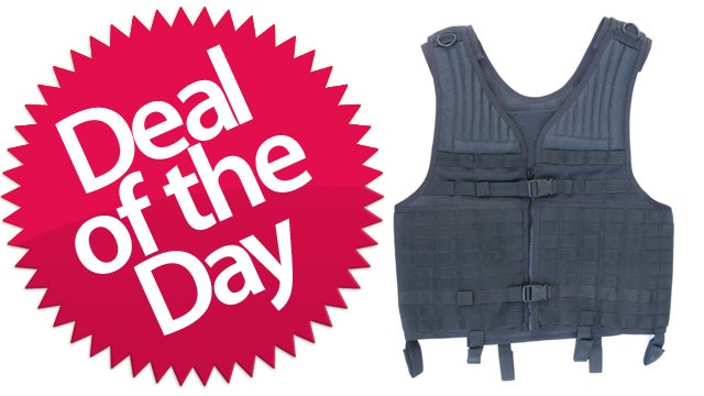 This Tactical Vest Is Your Not-So-Impractical Deal of the Day