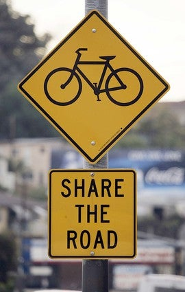 Share the Road; it's not even yours