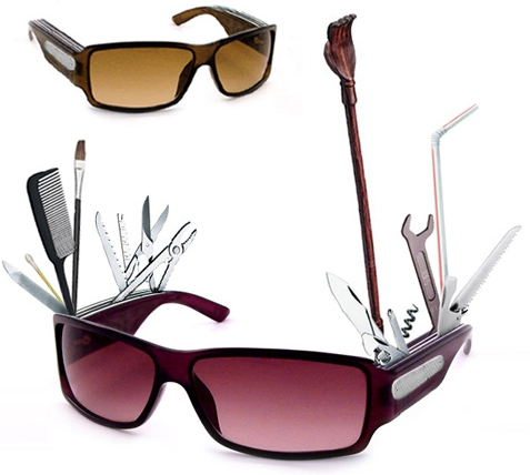 Swiss Army Sunglasses: Announce Your Nerdiness Through Eyewear