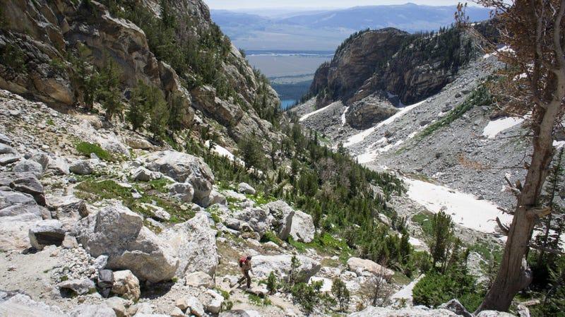 Climbing Grand Teton Without A Rope