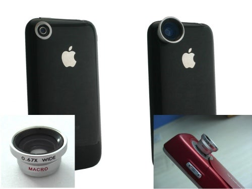 Magnetic Mount Lenses Add Wide Angle, Telephoto and Fish-Eye Capabilities to the iPhone