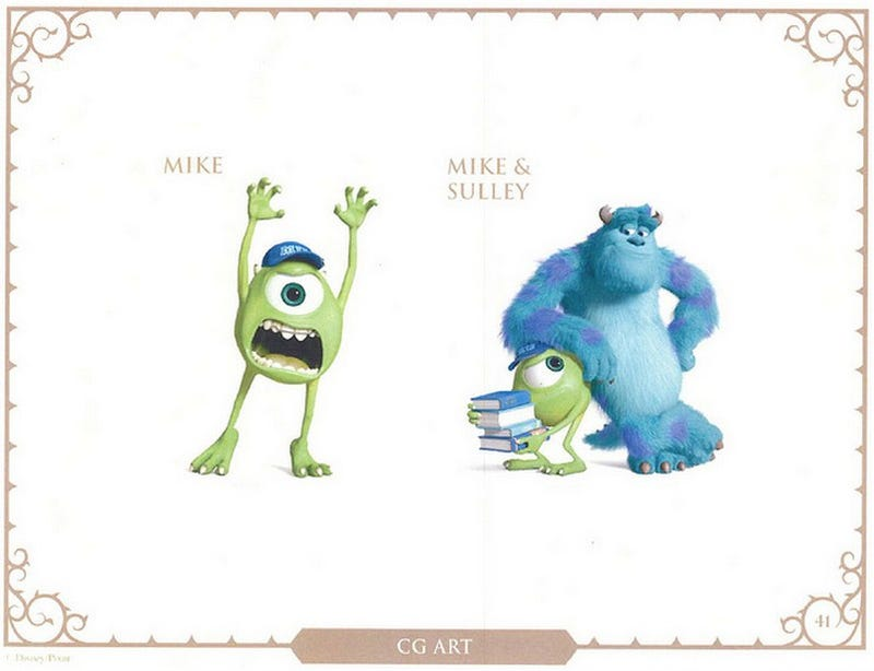 Monsters University concept art shows off a new cast of Monsters!