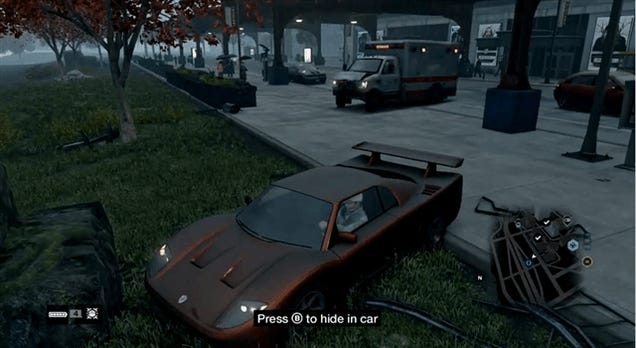 Ambulance Driver In Watch Dogs Really Shouldn't Be Behind The Wheel