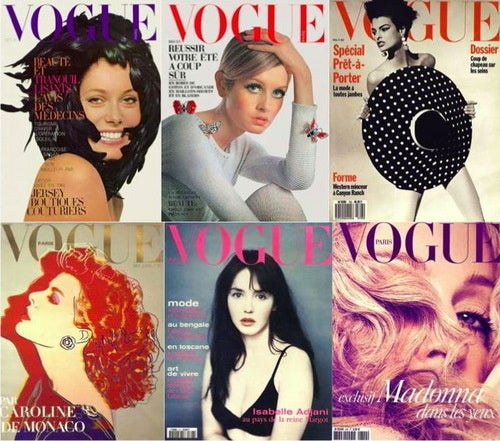 Check Out All The Old French Vogue Covers