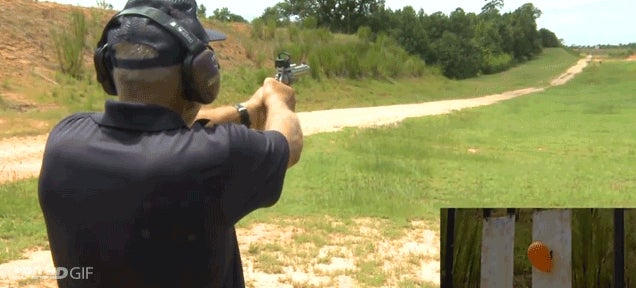 Shooter hits 1000-yard target in world record 9mm hand gun shot