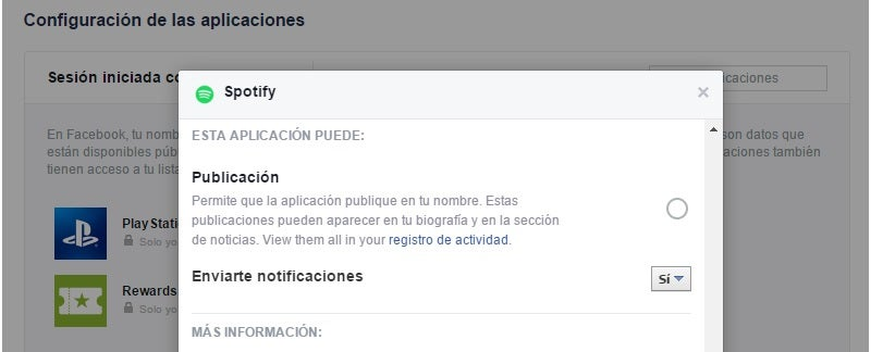 Cómo evitar que otras aplicaciones publiquen mensajes en tu muro de Facebook