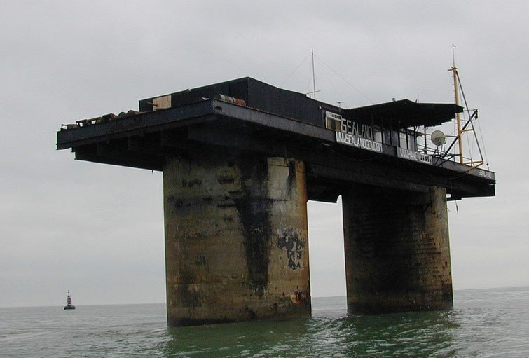 The Luxurious Afterlives of Abandoned Sea Forts and Oil Rigs