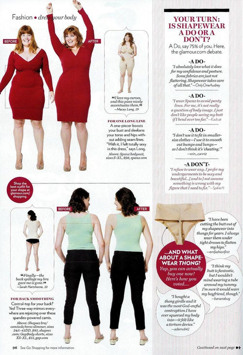 """Glamour's """"Big"""" Issue: Plus-Size Models, Plus-Size Problems"""