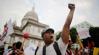 How Brazilian Protests Evolved To Fight Back Against The World Cup