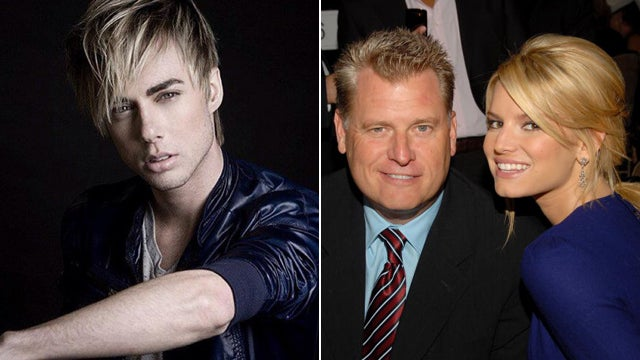 Here's the Aspiring Male Model Allegedly Bragging About Screwing Jessica Simpson's Dad