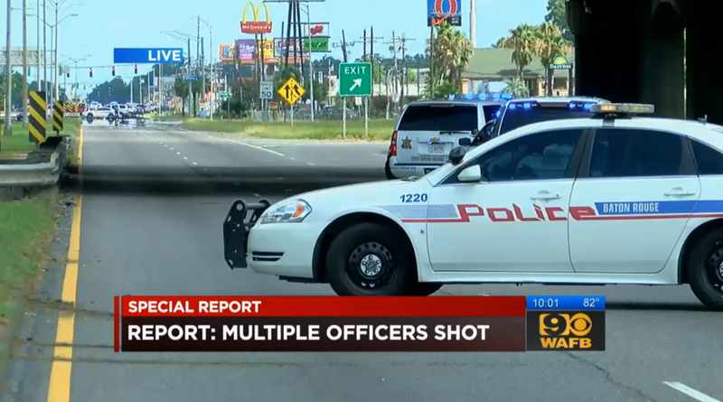 Three Cops Dead, Three Wounded in Baton Rouge Shooting