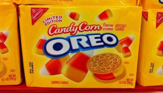 Are You Ready for Candy Corn Flavored Oreos? No, Of Course You're Not