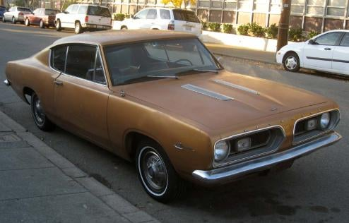 1967 Plymouth Barracuda, With Bonus Plymouth Poll