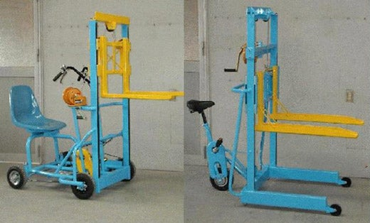 Human-Powered Forklift