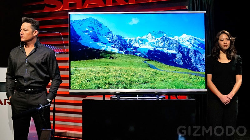 Sharp Has a 4K TV Ready for This Summer