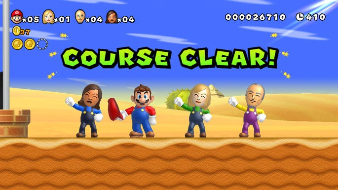 You Are the Hero In Super Mario Bros. Mii