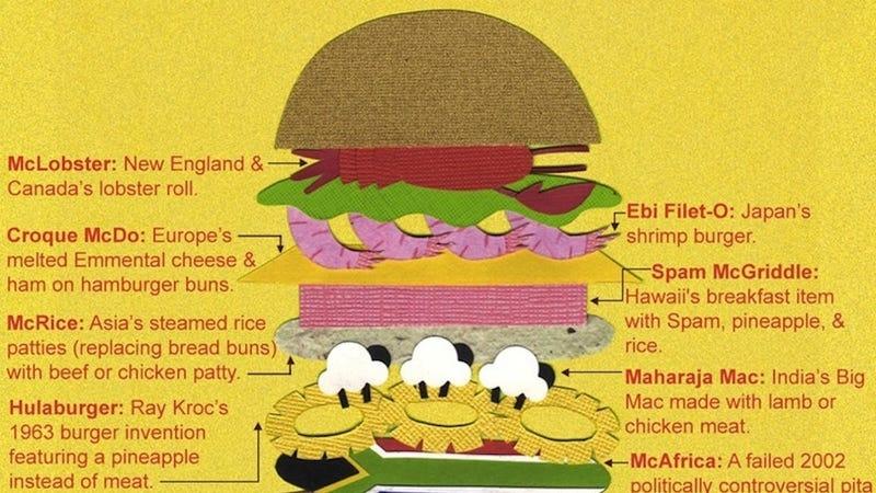 The Wonderful World of Exotic McDonald's Food