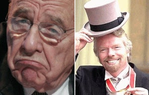 Media Bubble: Murdoch-Branson Feud Hots Up!