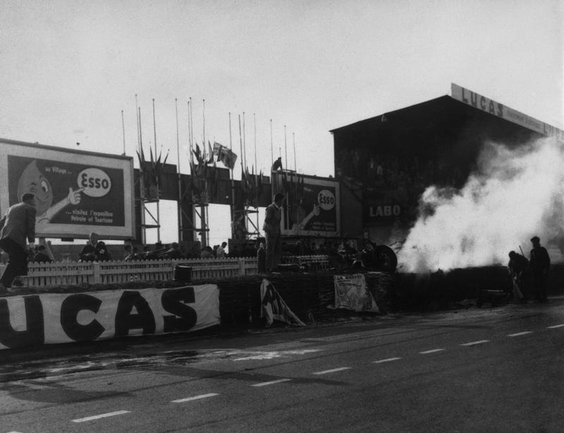 Just How Horrifying Was The Worst Crash In Motorsports, Le Mans '55?