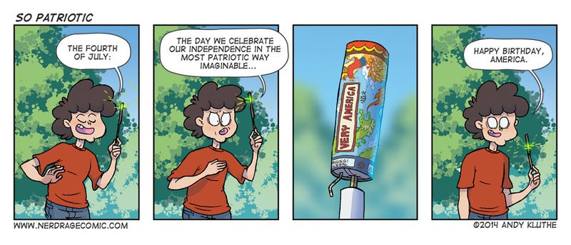 Sunday Comics: Fireworks Safety 101