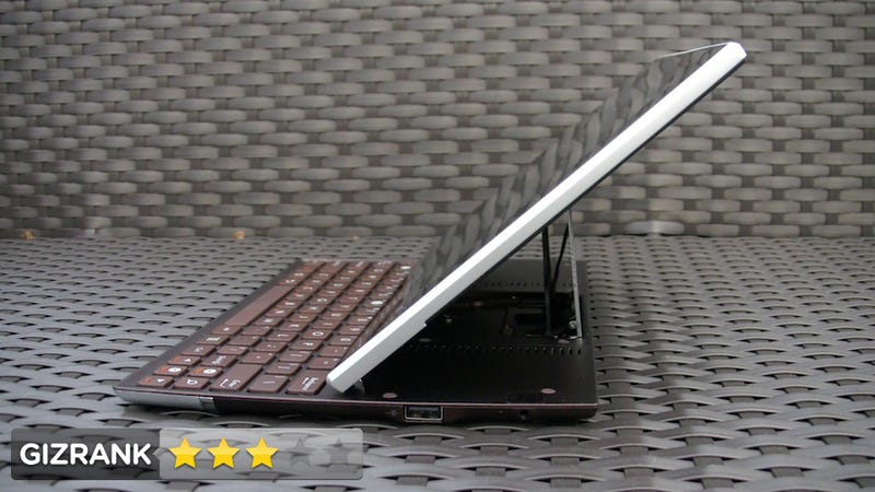 Asus Eee Pad Slider Lightning Review: Fat Tablet for Clickity-Clackers