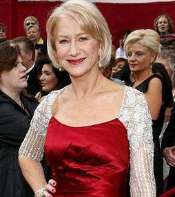 Helen Mirren Is Pro-Sleeves, Possibly A Designer