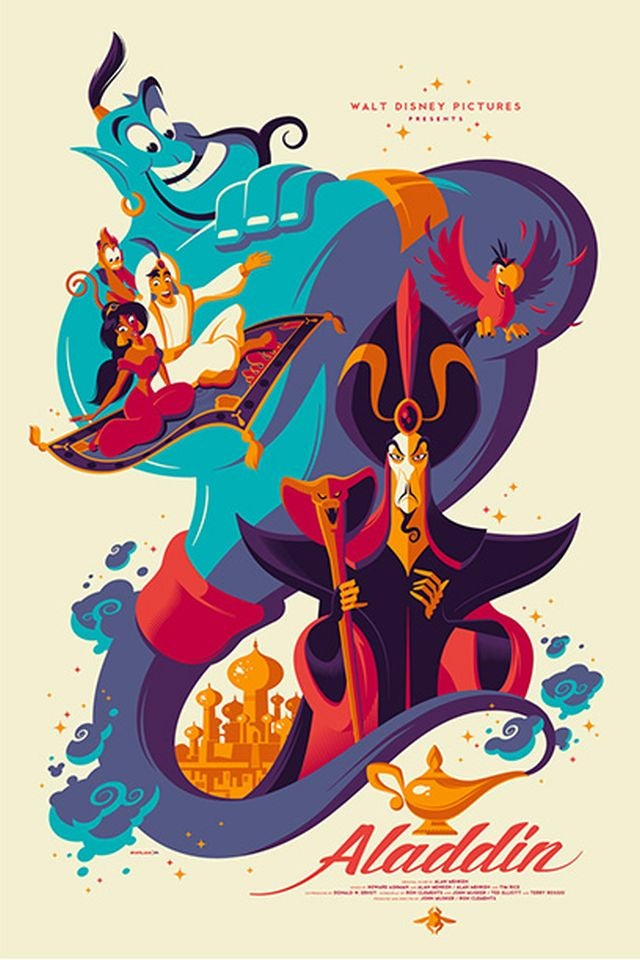 Mondo's Disney artwork will make you believe again