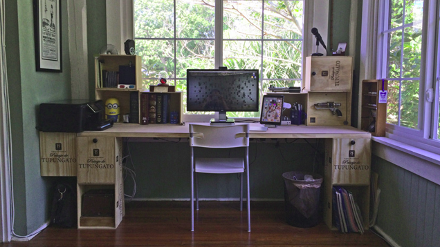 The Wine Crate Workspace