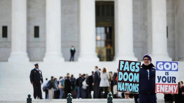 Supreme Court Upholds Westboro Baptist Church's Right To Be Hateful