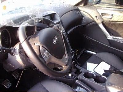 First Hyundai Genesis Coupe Crash Caught In Korea