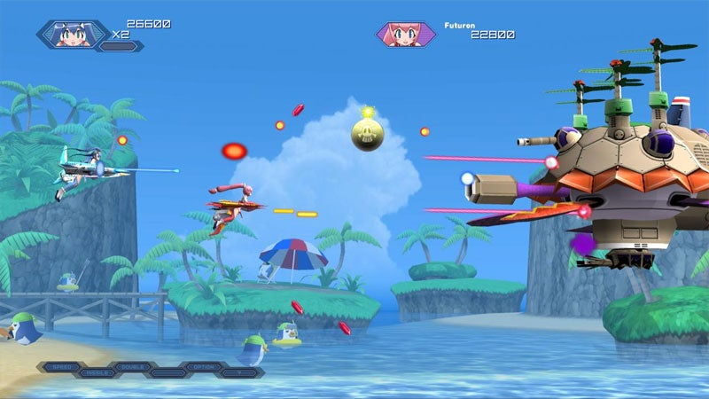 Otomedius Excellent Combines Xbox 360, Gradius & Boobs