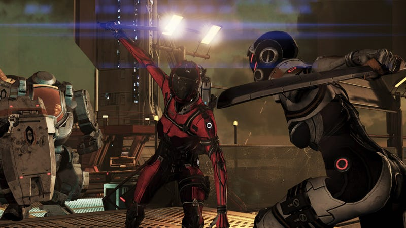 I'm Finally Going to Play Mass Effect 3's New Multiplayer. Because I Want to Be a Space Ninja.