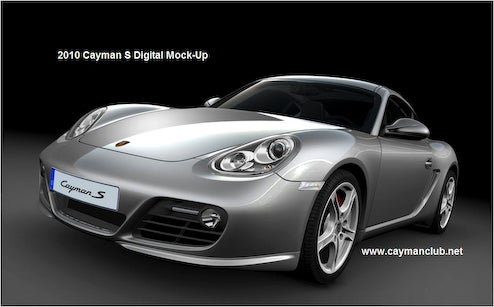 2010 Porsche Cayman S, Boxster S Revealed By Internal Renderings