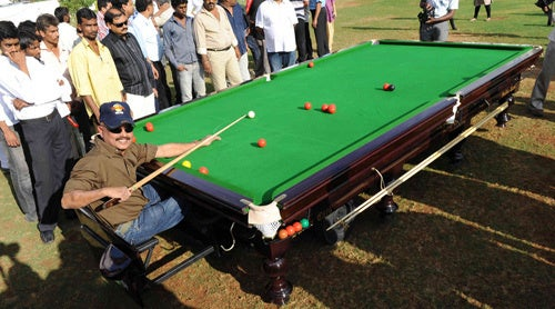 Snooker Table Car: The Indian Answer To The Driveable Sega OutRun Cabinet