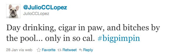 Mario Lopez's Dog Is a Total Douche Bag