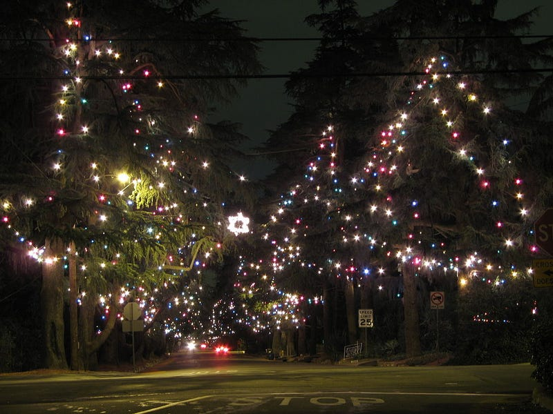 Christmas Tree Lane Hosts The Oldest Holiday Display In The World