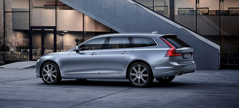the 2017 volvo v90 is beautifully wagon tastic. Black Bedroom Furniture Sets. Home Design Ideas