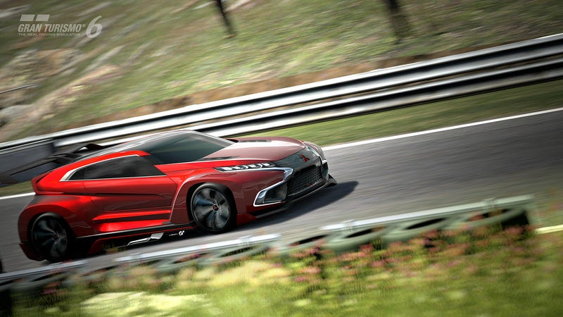 Mitsubishi's Gran Turismo Vision Concept Is A Furious AWD Hybrid Hatch