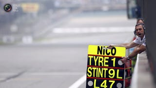 New Rules For F1 Pit Boards