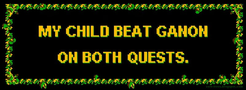 Bumper Stickers For Proud Gamer Parents