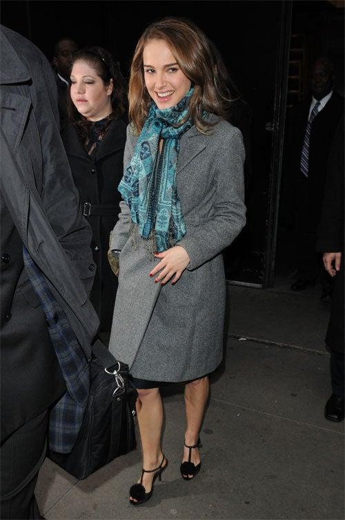 Natalie Portman Prances In Cruelty-Free Shoe-Puffs
