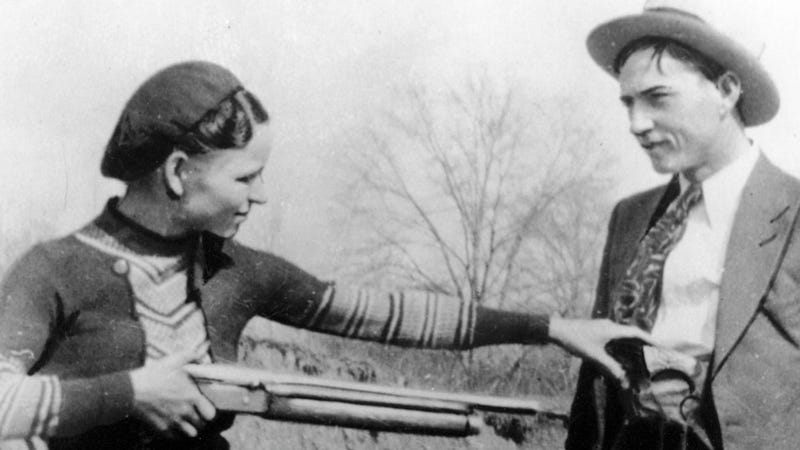Bonnie and Clyde's Guns Stay Together Thanks to a Creepy, Romantic Collector